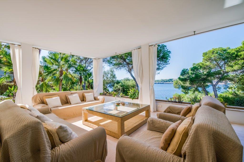 Finca Porto Petro Porch Flycam Media High Quality Real Estate Photography Mallorca Ibiza