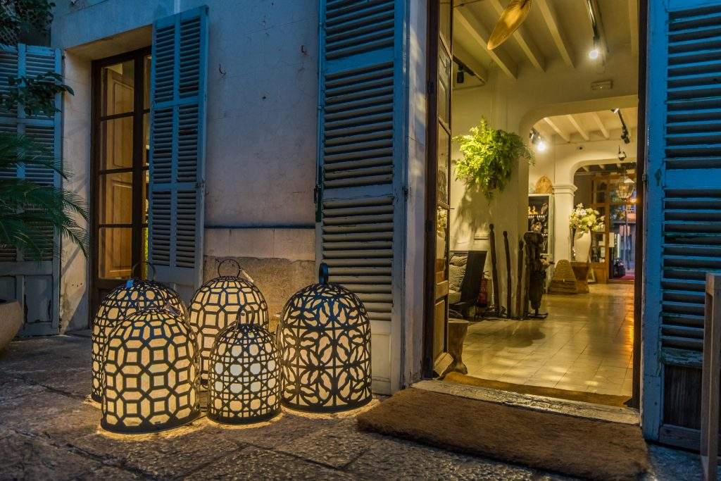 Design Restaurant Entrance Flycam Media Incentive and Event Photographer Mallorca and Ibiza