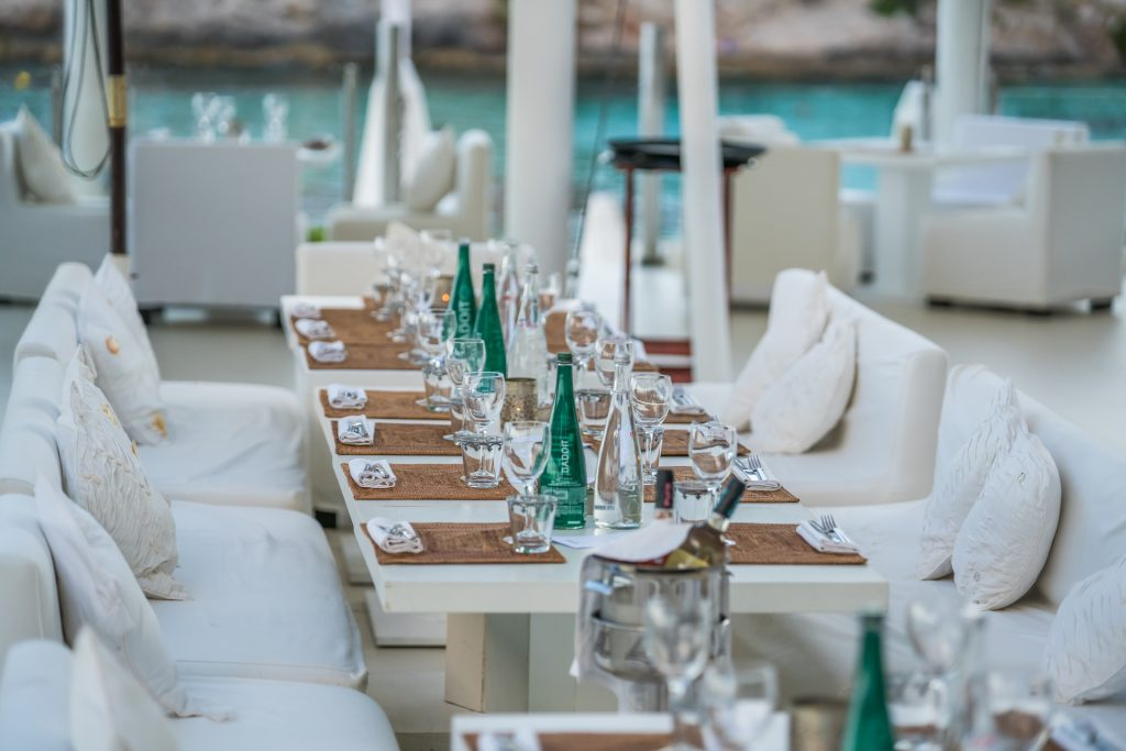 Puro Beach Club Terrace Flycam Media Incentive and Event Photographer Mallorca and Ibiza