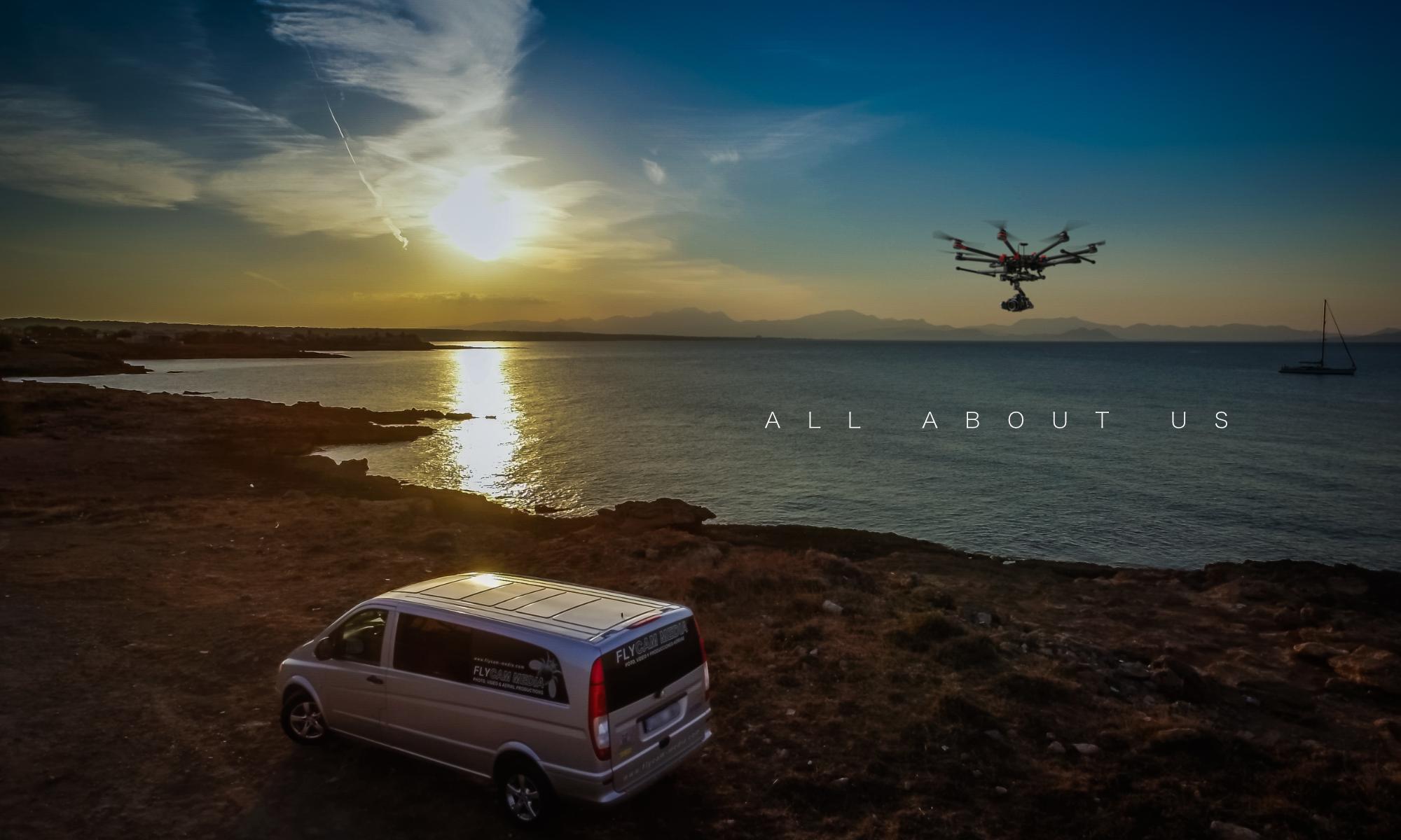 Flycam Media Mallorca Heavylift Multicopter Drohnen Services Filmproduktion, Fotograf DJI M600