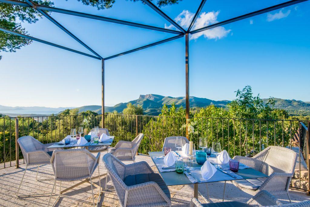 Carossa Resort Restaurant Terrace Photo Hotel Photographer Fotograf Mallorca