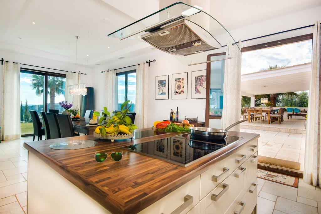 Finca Bunyola Kitchen Flycam Media High Quality Real Estate Photography Mallorca Ibiza