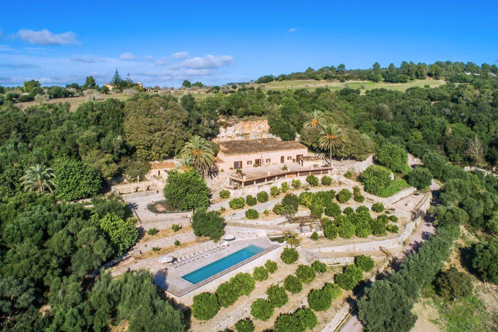 Finca Manacor Aerial Flycam Media High Quality Real Estate Photography Mallorca Ibiza