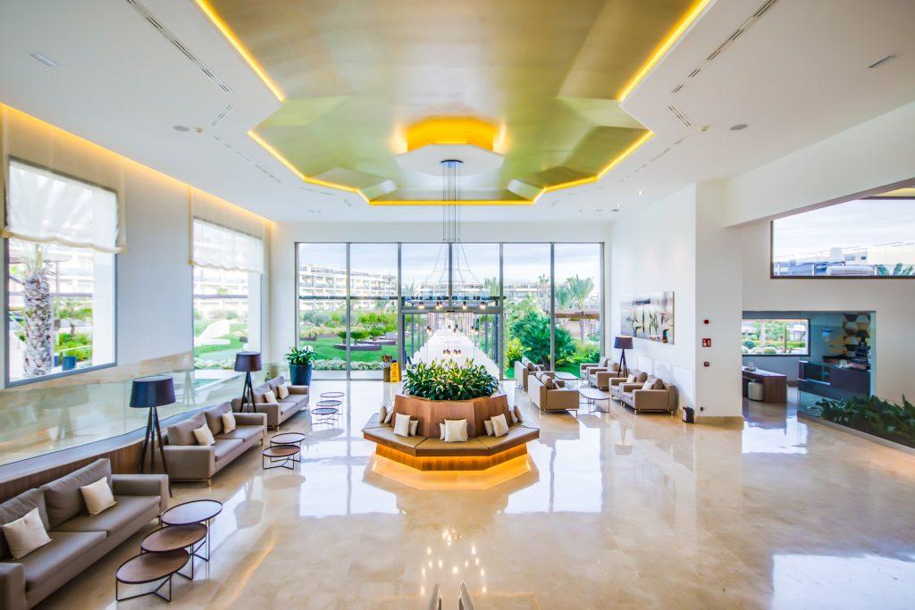 VIVA HOTEL ALCUDIA LOBBY Flycam Media High Quality Real Estate Photography Mallorca Ibiza