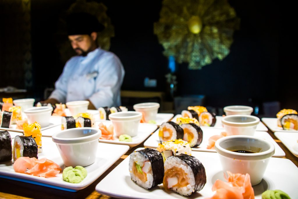 Sushi Chef Flycam Media Incentive and Event Photographer Mallorca and Ibiza
