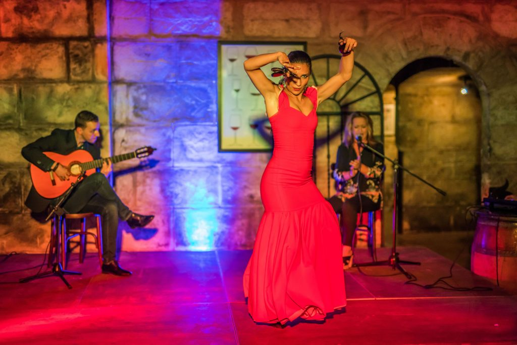 Flamenco Show Flycam Media Incentive and Event Photographer Mallorca and Ibiza