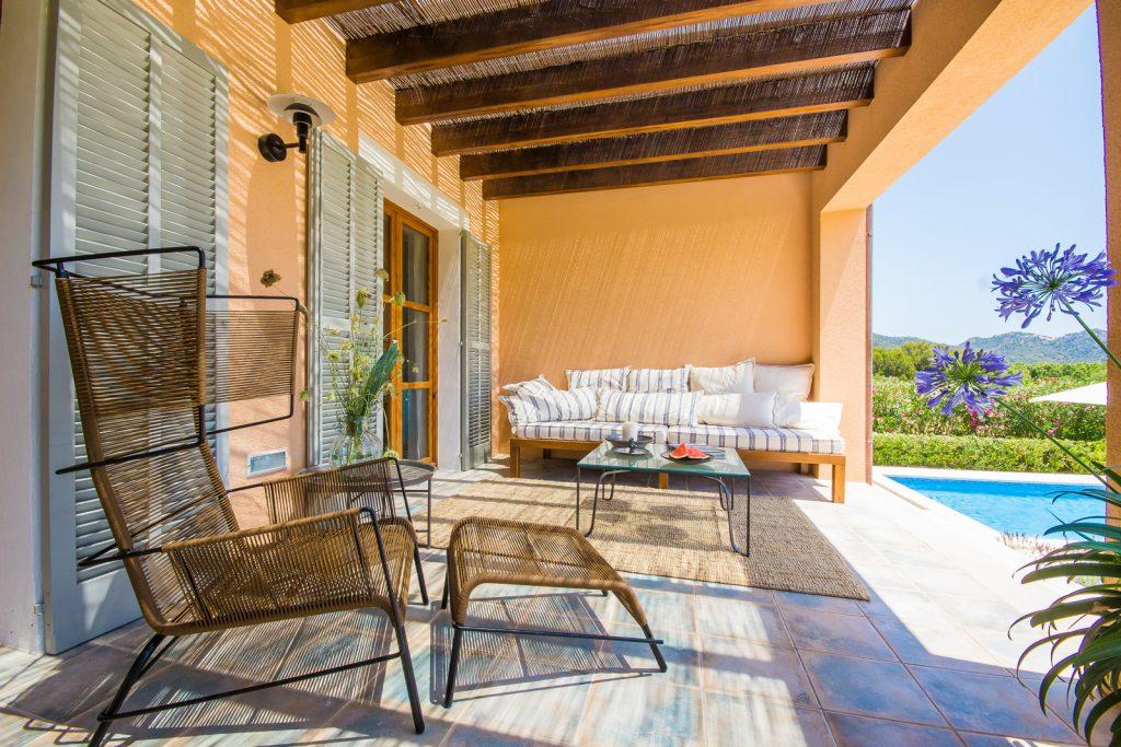 Finca Son Servera Terrace Flycam Media High Quality Real Estate Photography Mallorca Ibiza