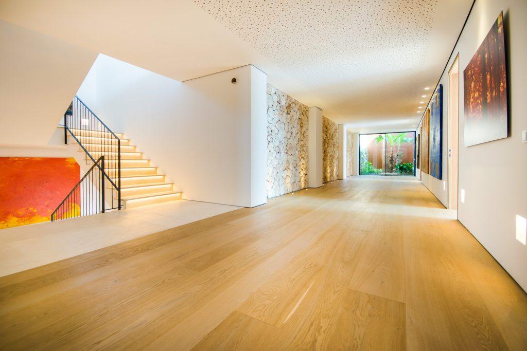 Luxury Villa Cap Falco Hallway Flycam Media High Quality Real Estate Photography Mallorca Ibiza